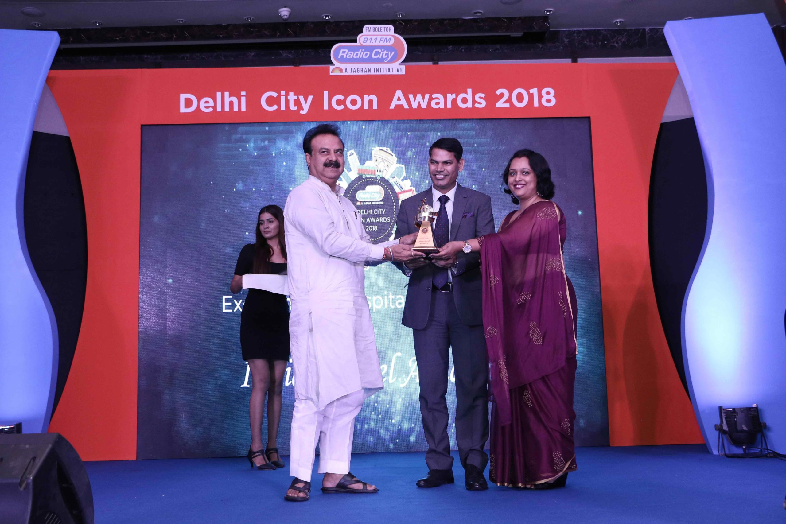 Award to our Hotel Management College