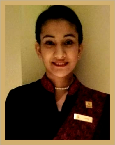 IHA Hotel Management Student