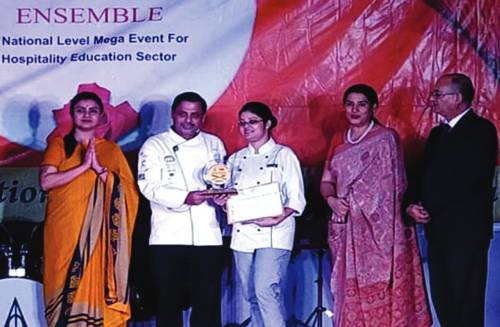 Gold Award for IHA Student