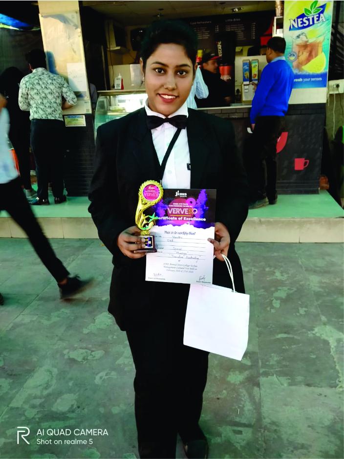 Award for IHA Student